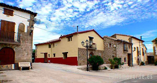 TURISMO VERDE HUESCA. Casa Lino de Chibluco